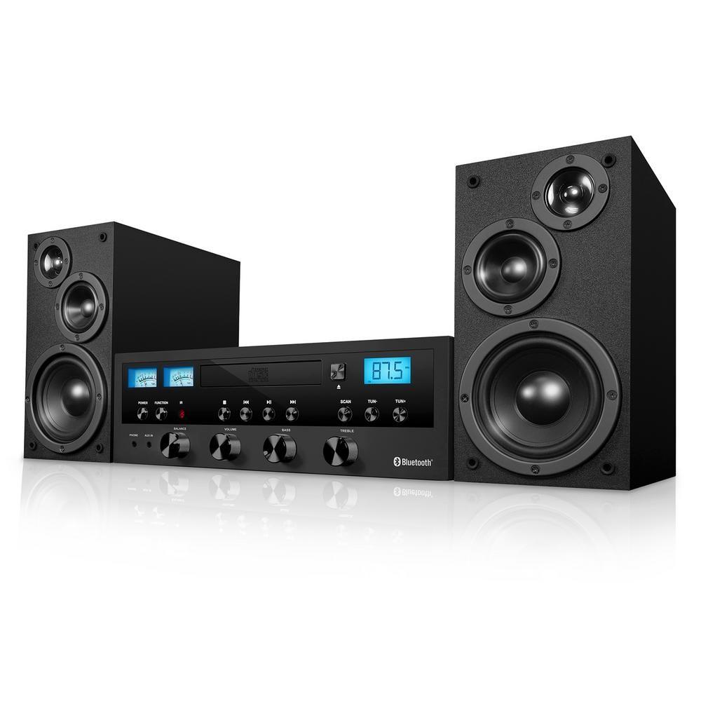Innovative Technology ITCDS-5000 Stereo System Bluetooth CD w// FM Radio Silver