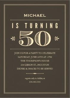 Invitations for 50th birthday party my birthday pinterest 50 invitations for 50th birthday party filmwisefo