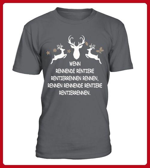 Limitiert Zungenbrecher Rentiere - Winter shirts (*Partner-Link)