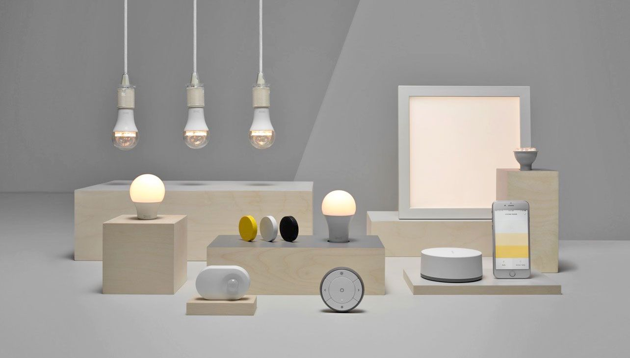 Light Automation Ikea Launches Its Own Low Cost Smart Lighting Range New Tech To