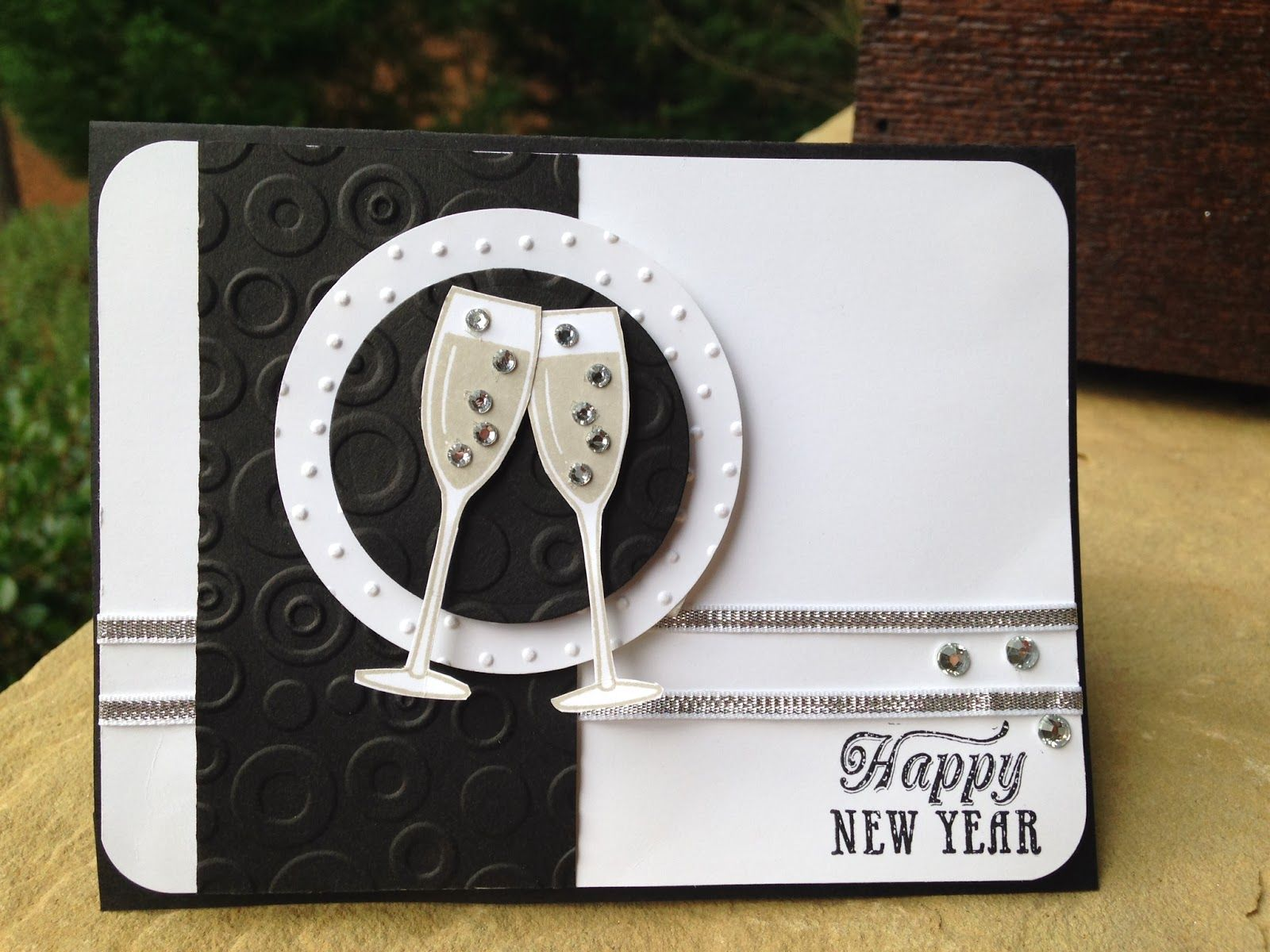 stampin up new years card ideas - Google-Suche | new years eve ...