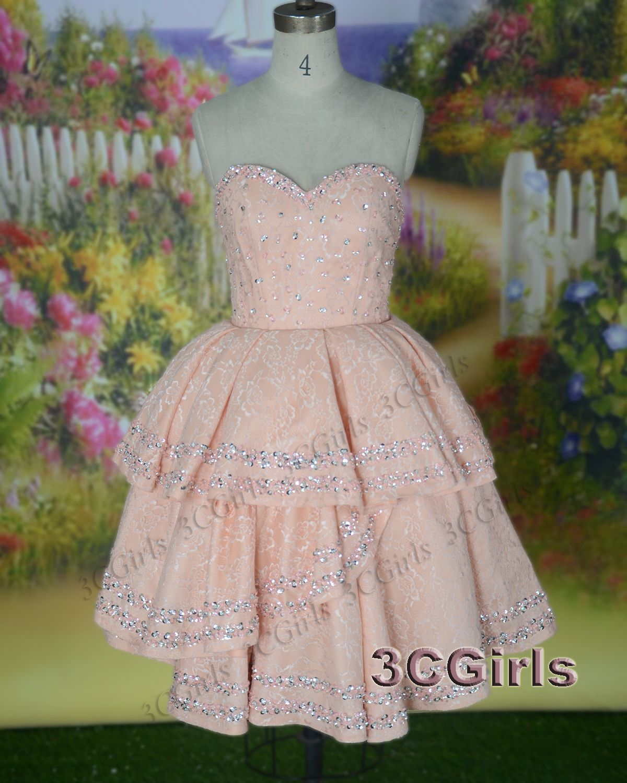 Prom dress vintage dress short sweetheart dress for teens