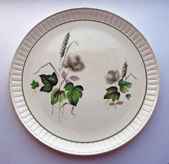 1950s Royal Worcester Palissy Plate, Retro 'Sandon Rose ...