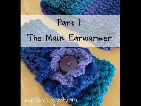 Episode 21: How to Crochet the Tweedy Puff Stitch Earwarmer, Part 1 ...