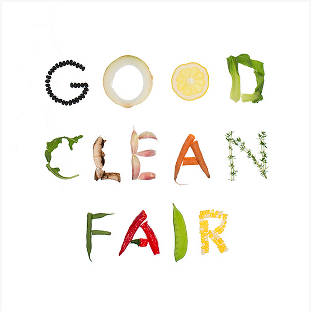 Good clean fair philosophy of the slow food usa for Cuisine font