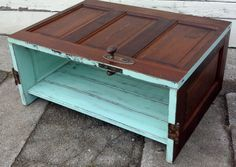 Coffee Table Made From A Door Old Doors Antique Barn