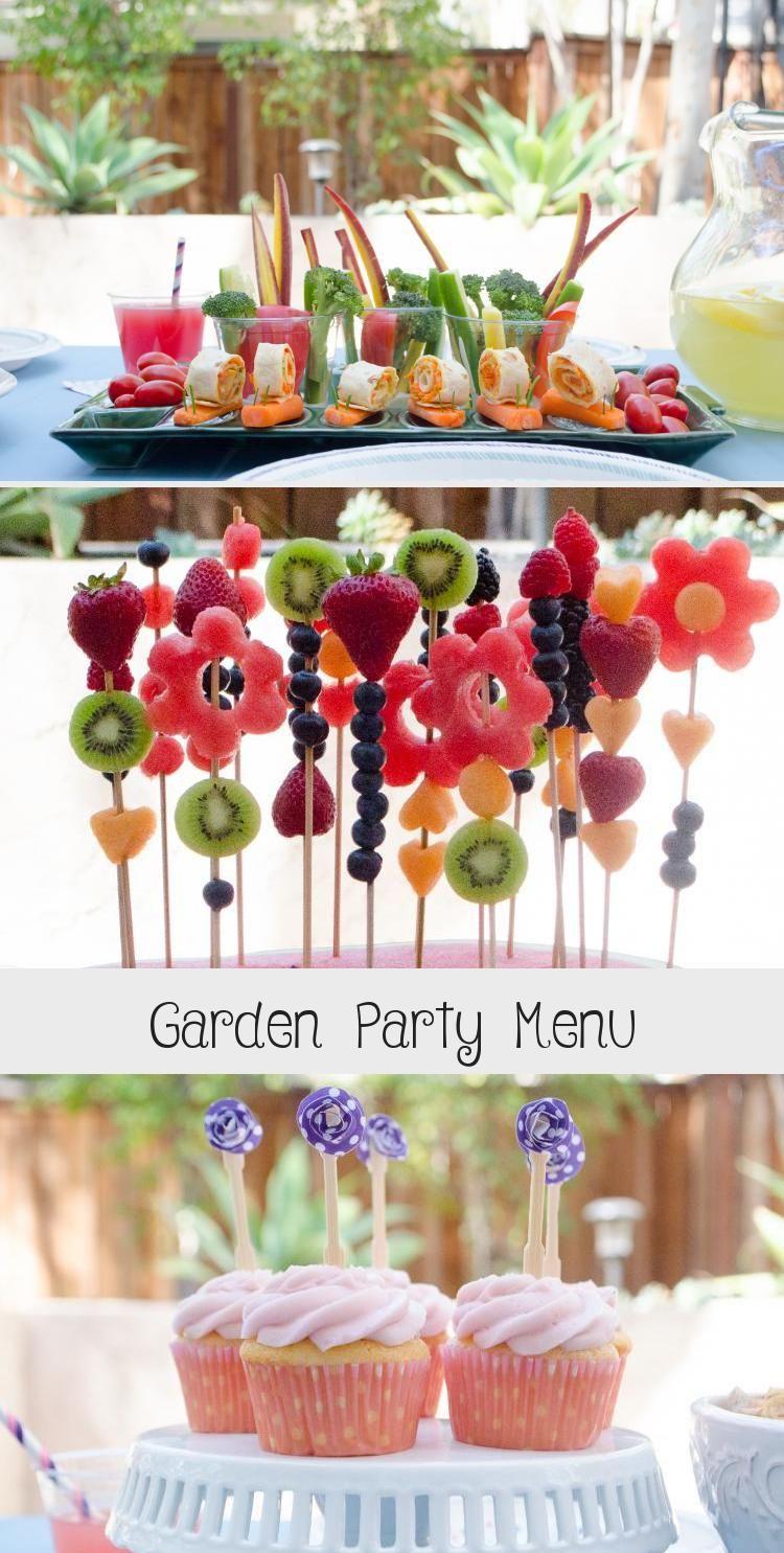 Garden Party Menu In 2020 Garden Party Garden Party Invitations