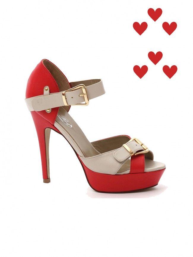 de452dff347a3b RosaRot Extravagante Sandalette Gigi Chilli Sand Unique Shoes