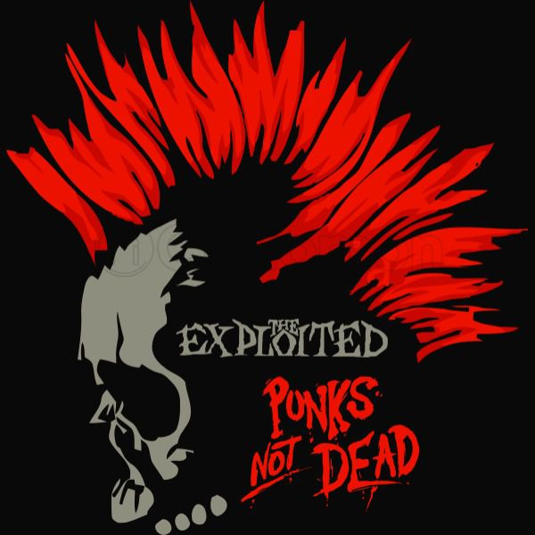 Punks Not Dead The Exploited Men S Punks Not Dead Metal Posters Art Punk