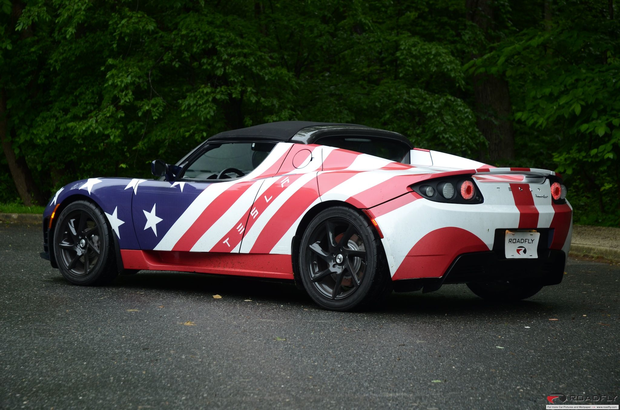 Tesla Roadster, made in the USA. For more, check out www