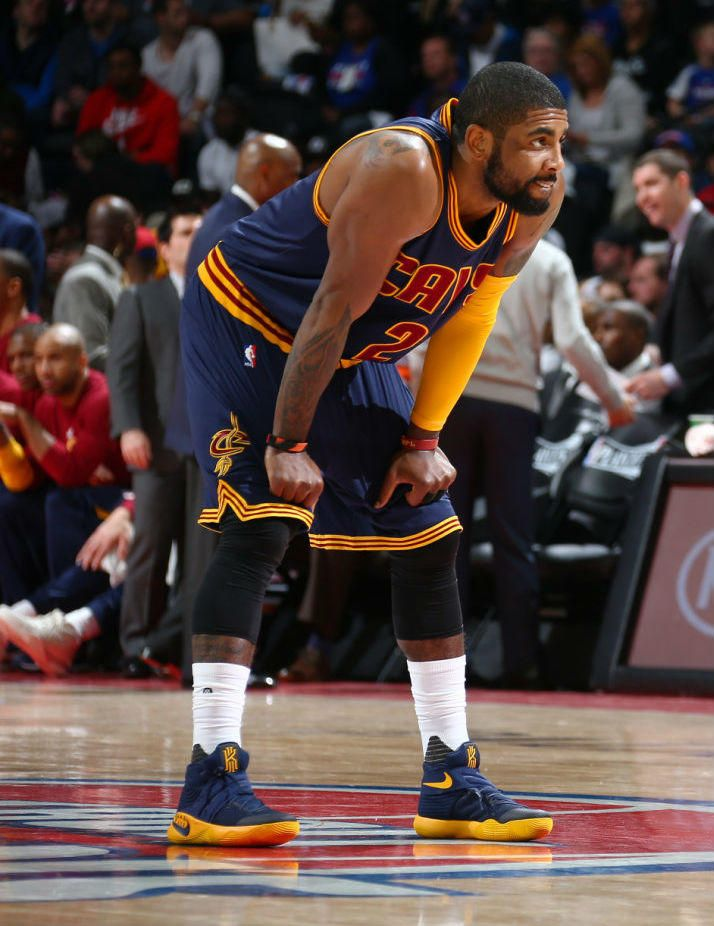 reputable site c7991 4d65f Kyrie Irving Wears the