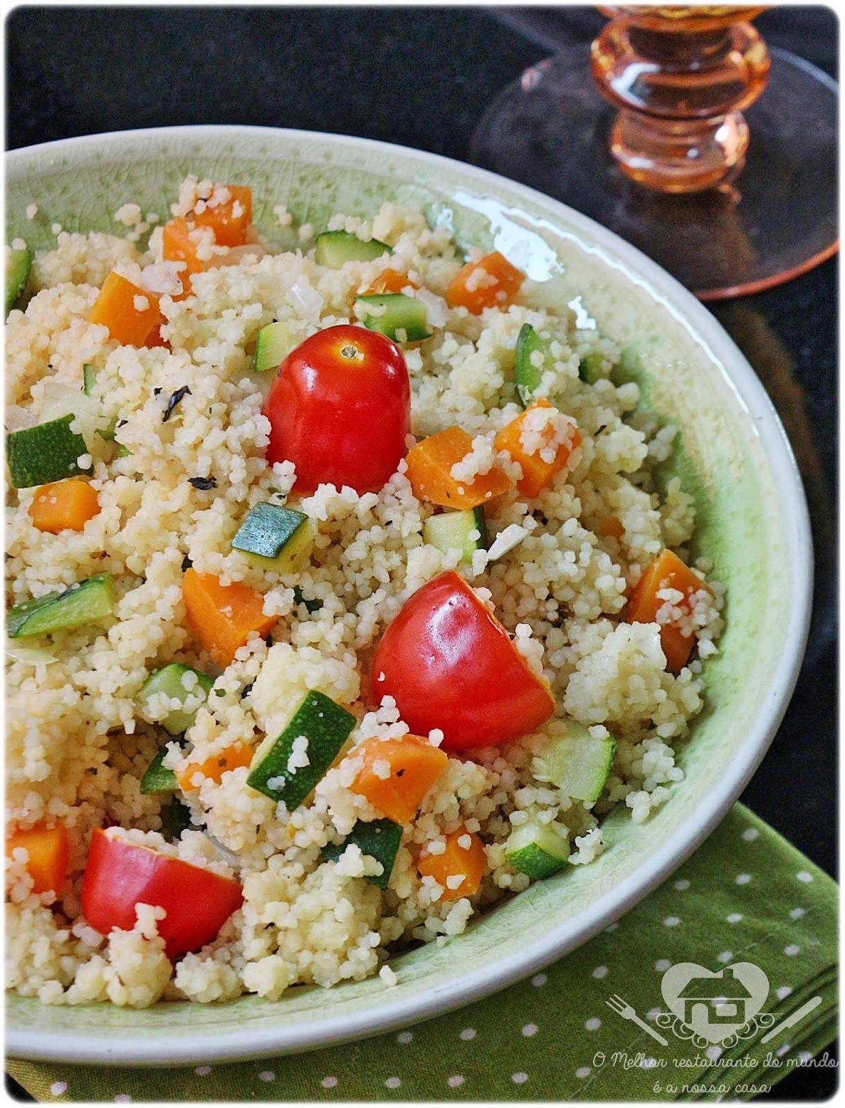 Cuzcuz Marroquino Com Legumes Com Imagens Comida Marroquina