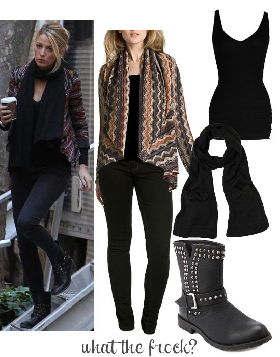 What the Frock? - Affordable Fashion Tips and Trends: Celebrity Look for Less: Blake Lively Style