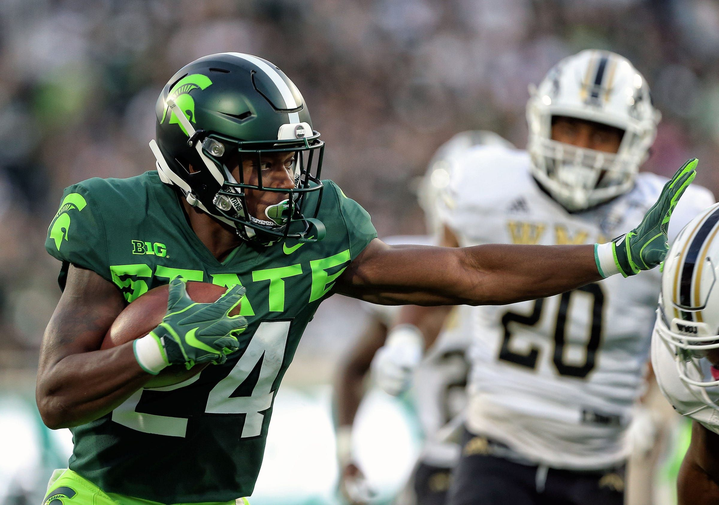 Michigan State S Offense Finally Looks Like A Winner In Rout Of