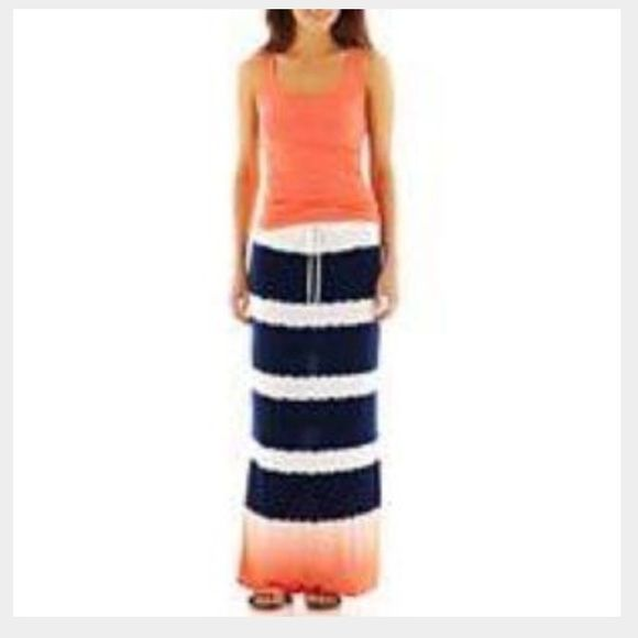 a.n.a tie dye maxi skirt In good condition a.n.a Skirts Maxi