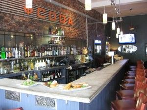 Coda Kitchen Bar Where Everybody Know S You Name Most Of Maplewood Can Be Found Here On Thursday Nights Try The Fish Tacos Kitchen Bar Kitchen Fine Dining