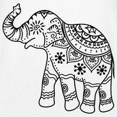 Trio De Elefantes Buscar Con Google Contorno De Elefante Elefantes Bordados Bordado Mexicano Patrones