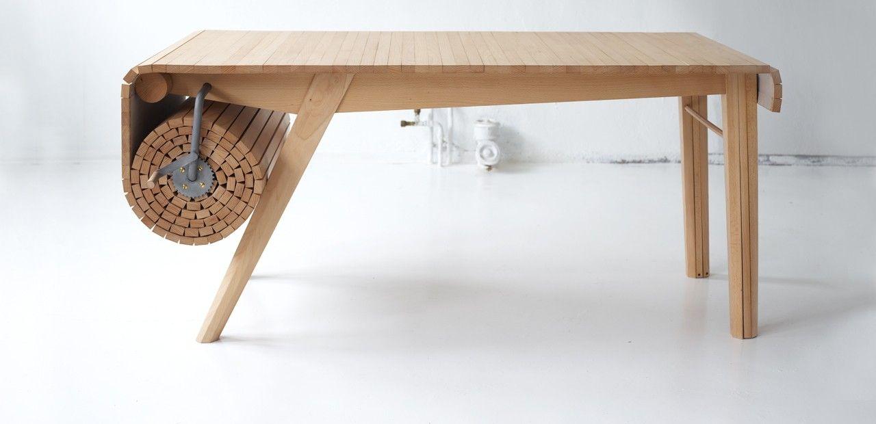 Tavolo Allungabile 4 Metri.Tavolo A Rullo Tavolo Design Tavolo E Sedie Idea Di Decorazione