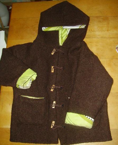 Patron manteau fille 4 ans