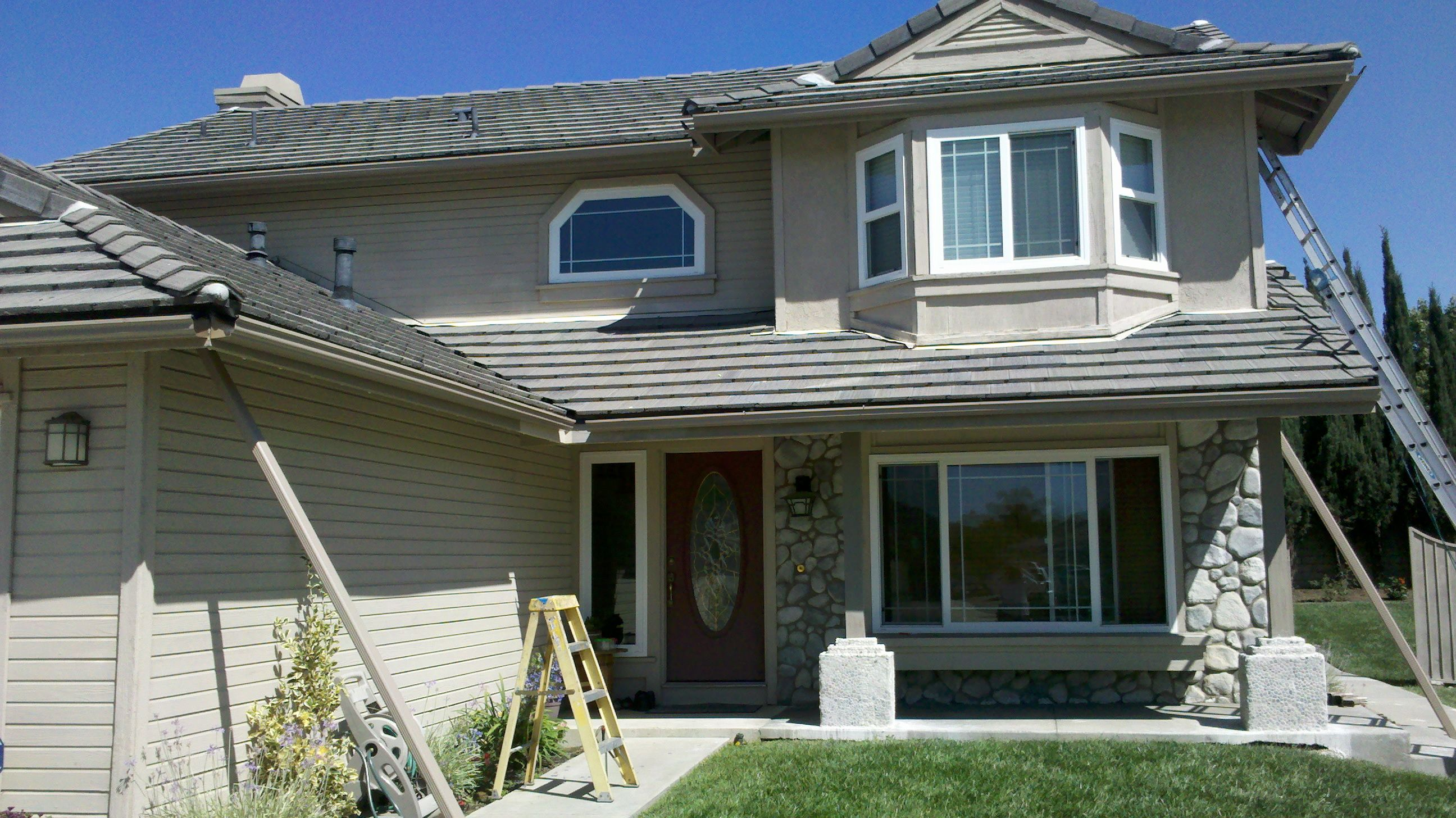 how to install rain gutters on a garage