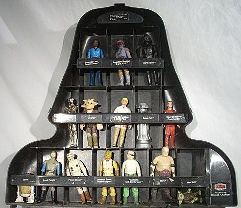 Vintage Star Wars Darth Vader Case and Action Figure Set