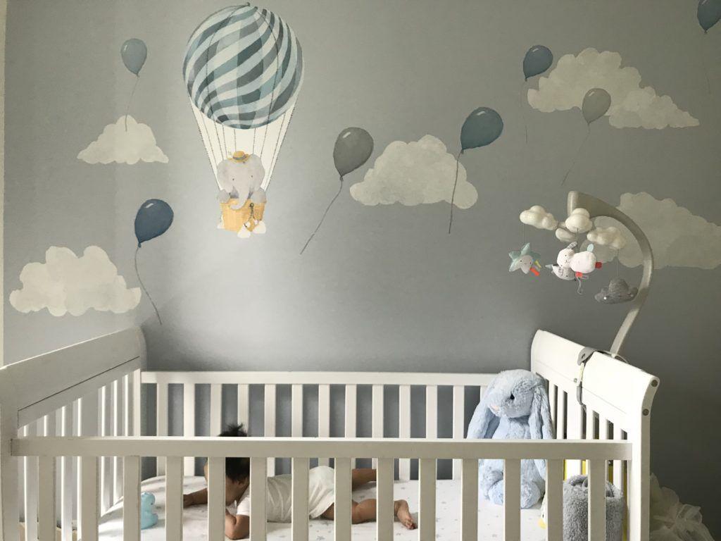 Baby Nursery Project Nursery Hot Air Balloon Nursery Boy Baby Nursery Inspiration Baby Boy Room Themes