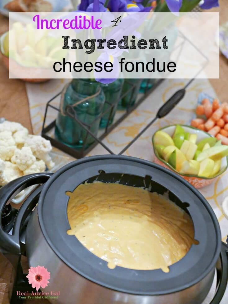 Easy Fondue recipes with cheese are a time saver. They are the perfect way to create family time or a special event. This recipe will having you dipping to reach every last drop. #fonduerecipes