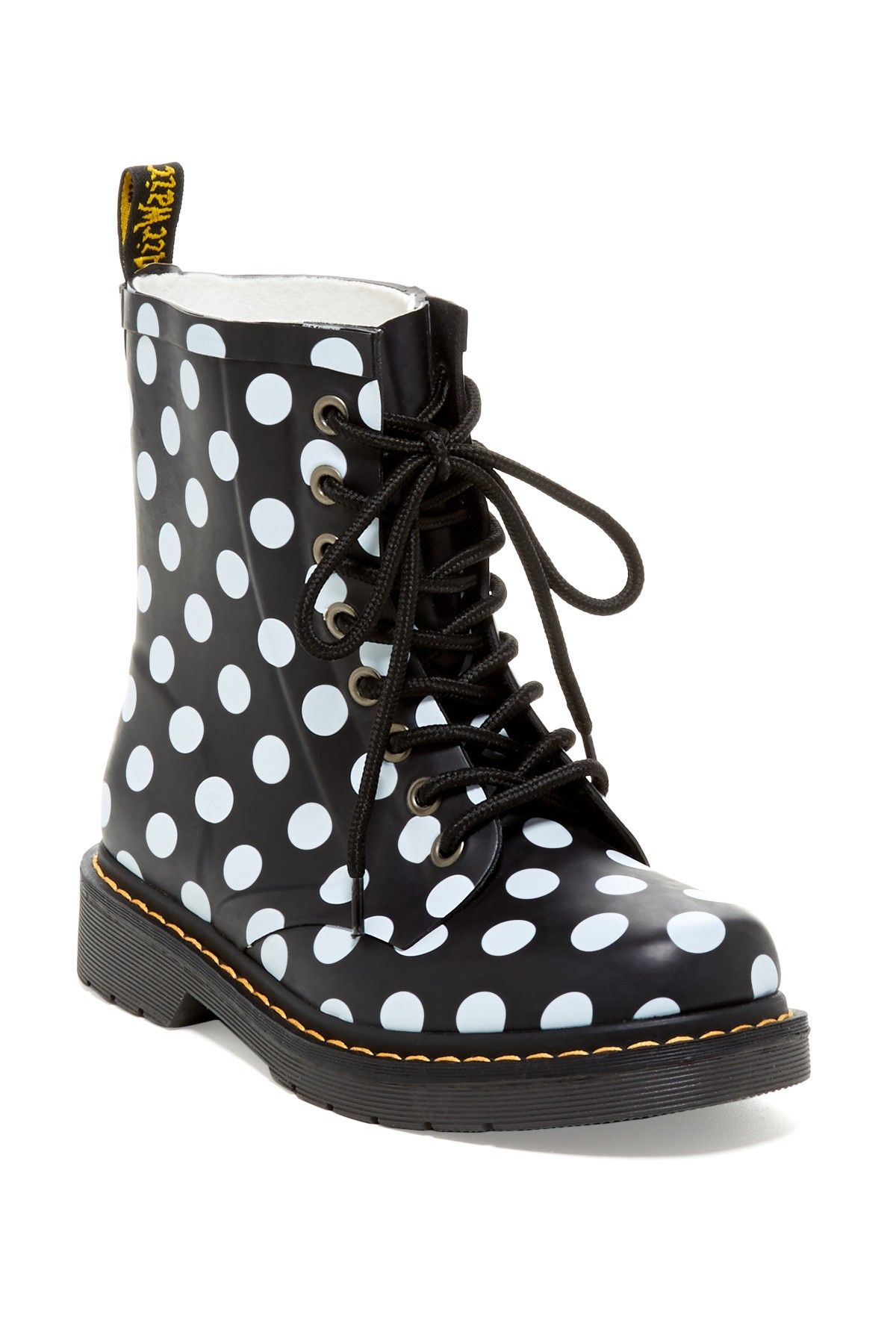 Drench Polka Dot Boot by Dr. Martens on @HauteLook   mis