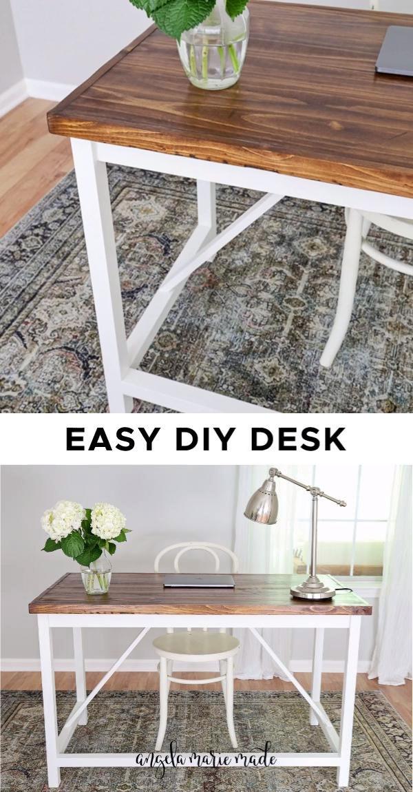 Easy DIY Computer Desk