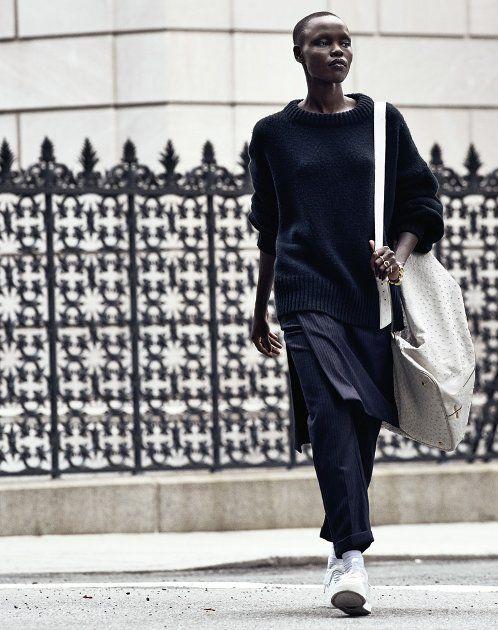 Grace Bol, Julia Noni, T Magazine, Black Fashion Models, Sudanese Fashion Models, African Fashion Models
