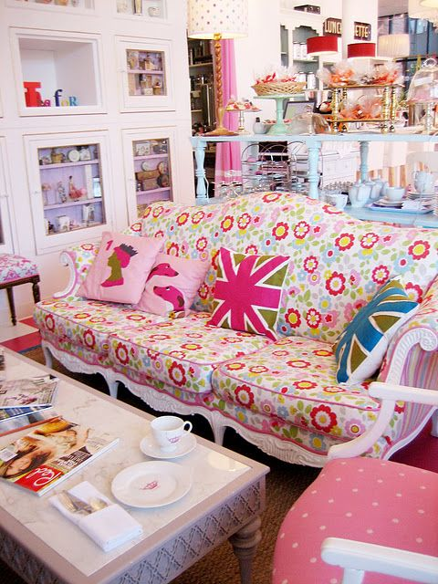 For my future Lady Lair - if the husband gets a Man Cave, I get a ...