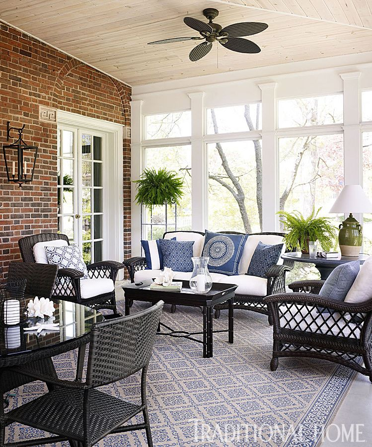 Before And After Revived Georgian Style Home Georgian Style Homes Sunroom Decorating Sunroom Designs