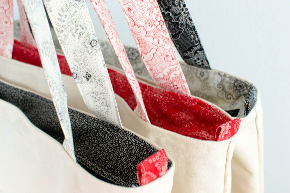 Teacher Tote Bags to Sew in a Flash! {free sewing pattern ...