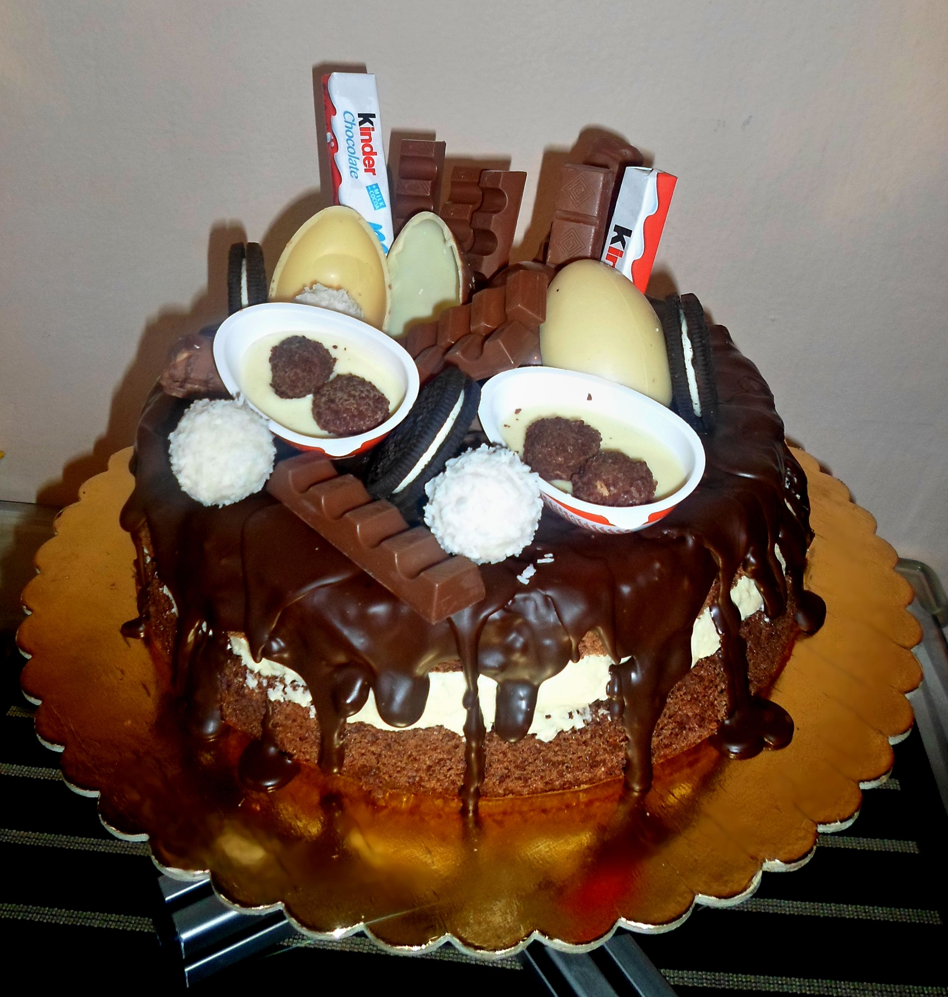 Kinderriegel Torte Was Eigenes Kinder Surprise Kinder Joy Kinder Bueno Oreo
