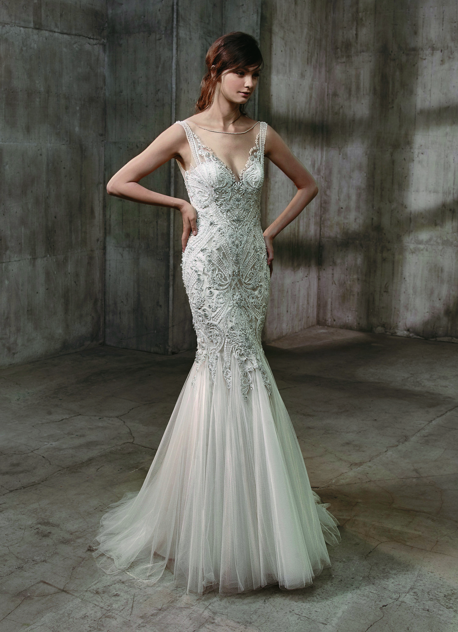 Ariana Wedding Dress by Badgley Mischka  Flirty 02356508201