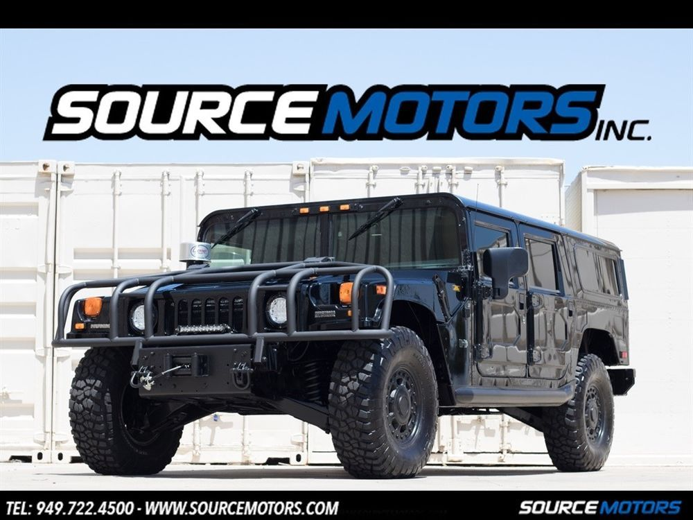 H1 Wagon 4dr Turbodiesel 2003 Hummer H1 Wagon Turbo Diesel Leather Custom Stereo D Ring Brush Guard Ad Cars Wagon Hummer Hot Rod Trucks