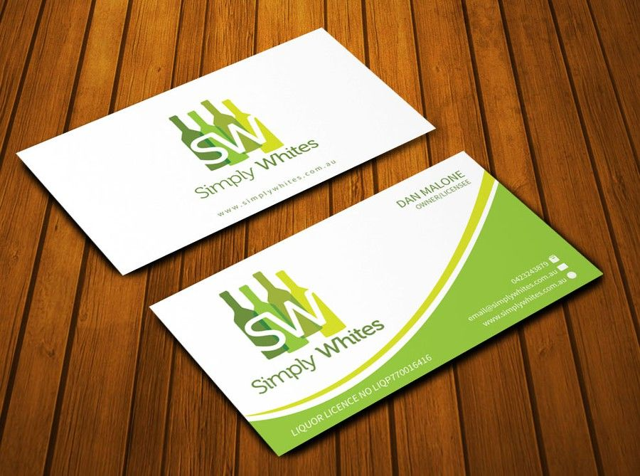 freelance SIMPLY WHITES WANTS SIMPLY THE BEST BUSINESS CARD by Ak ...