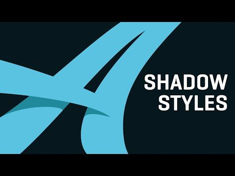 Lettering Shadow Styles Tutorial | Adobe Illustrator - YouTube