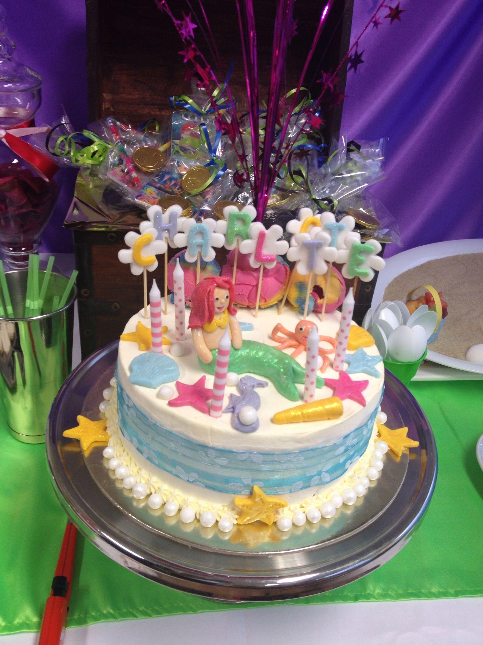 Mermaid Ice Cream Cake