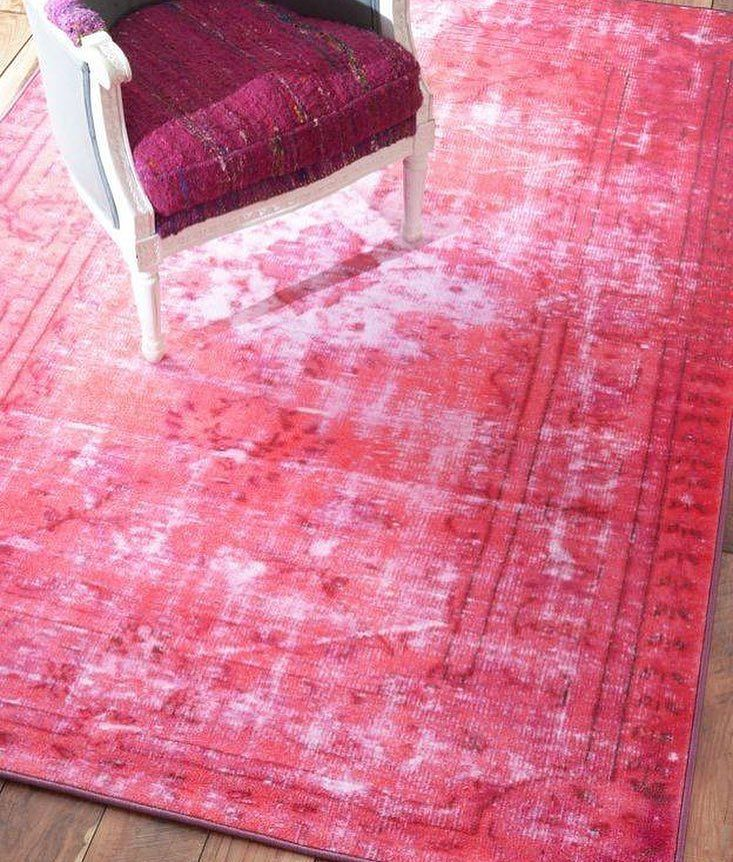 Writing Image By Morgan Turner Pink Rug Overdyed Rugs