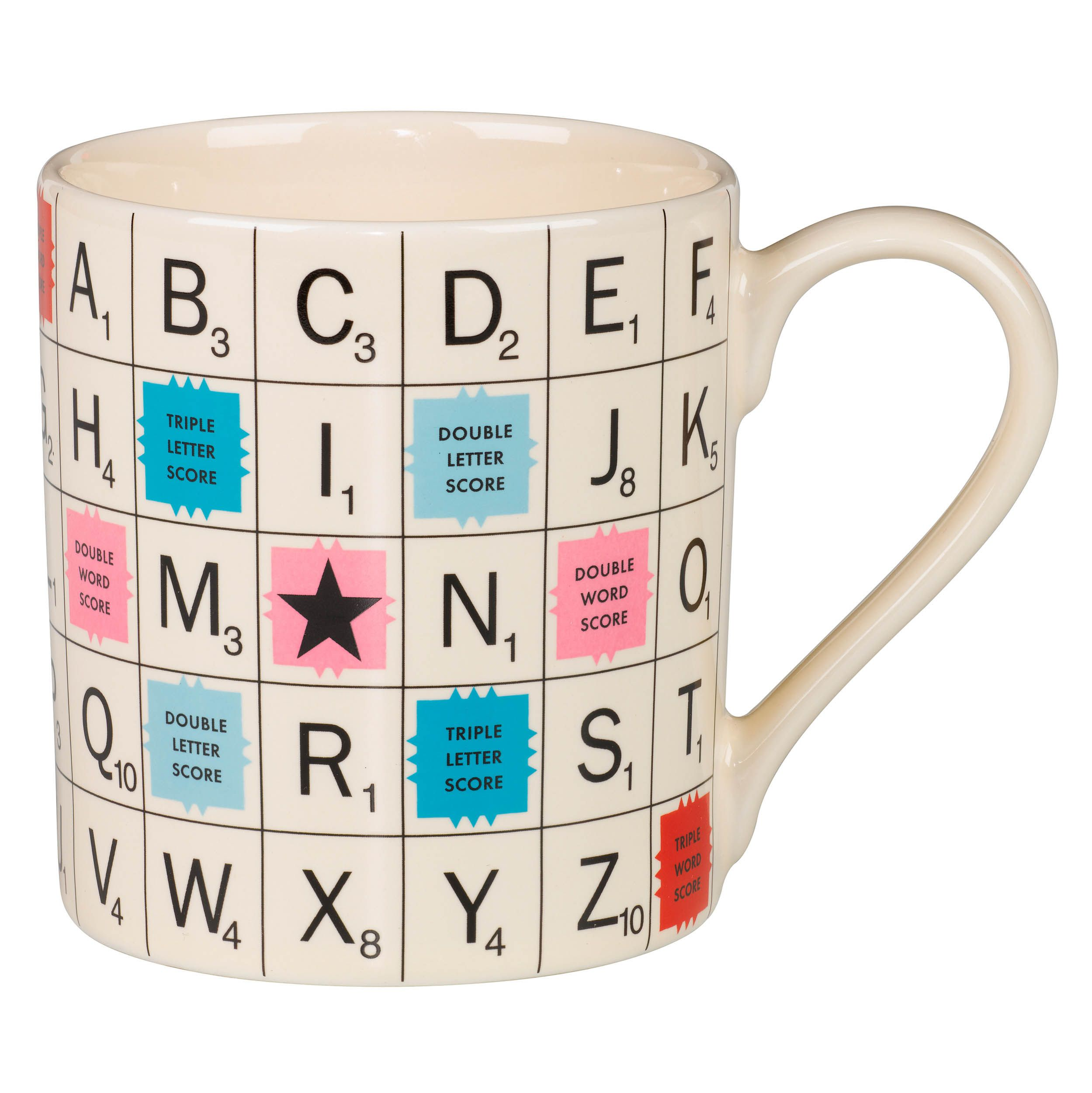 Alphabet mug vintage home sweet home pinterest wolves website scrabble vintage scrabble tile mug sip tea or coffee while winning a triple word score with this ceramic scrabble mug that comes in vintage inspired dailygadgetfo Image collections