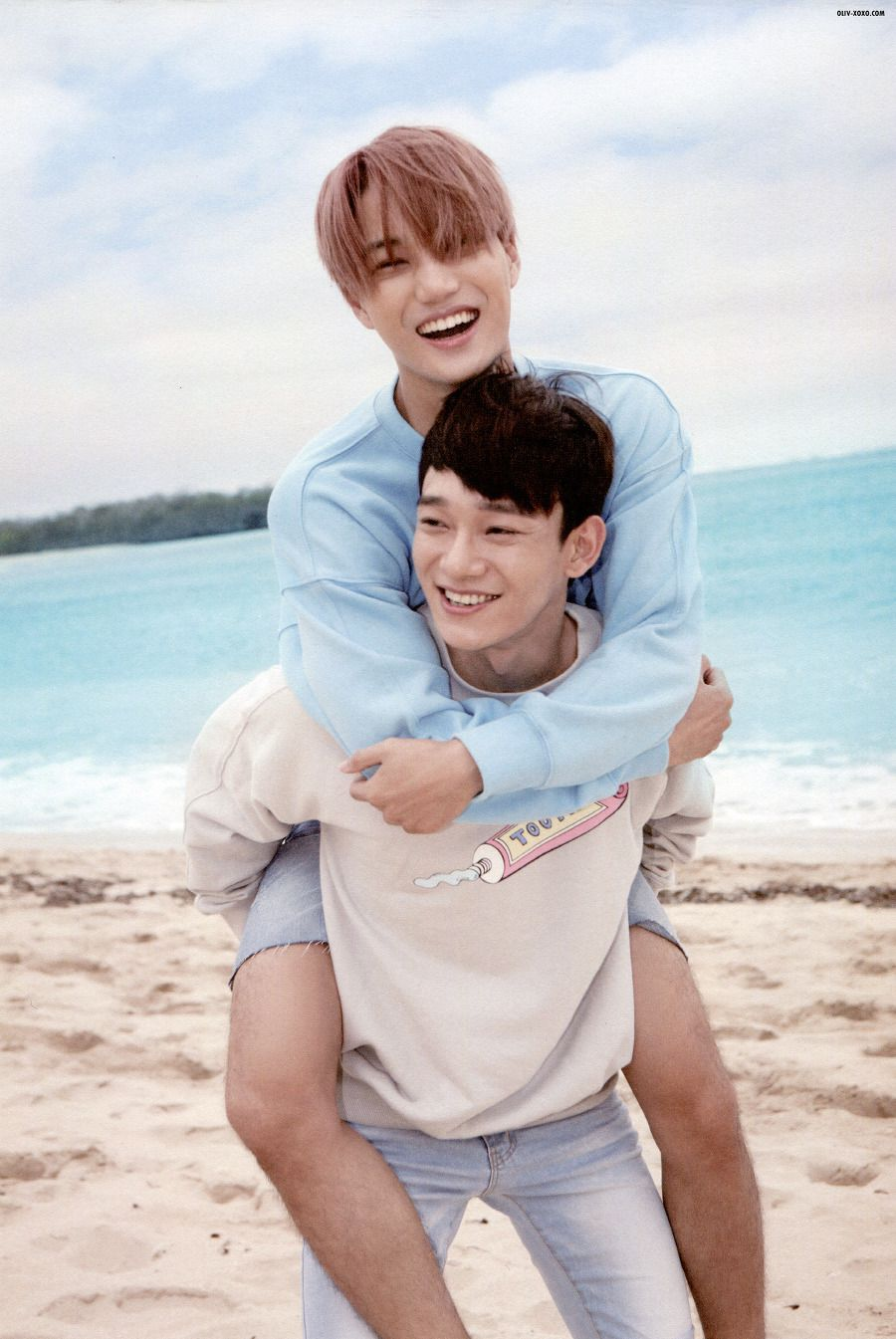 Babies <3 Kai and Chen | EXO Dear Happiness photobook 2016 <3