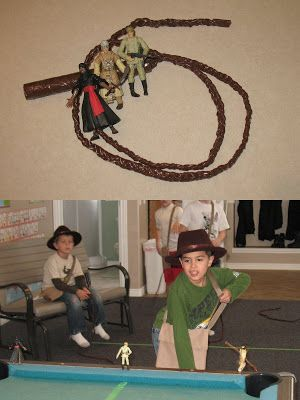 Four Little Monkeys: Indiana Jones Birthday Party – The Details
