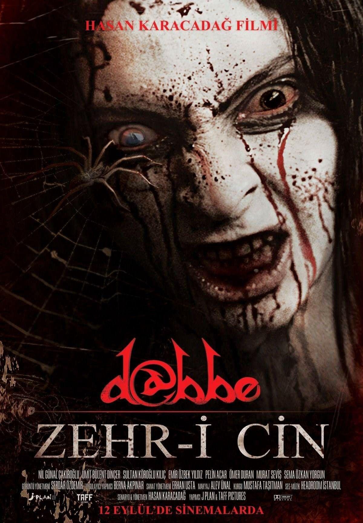 Dabb 5 Zehr I Cin Pais Turquia Com Imagens Filmes De Terror