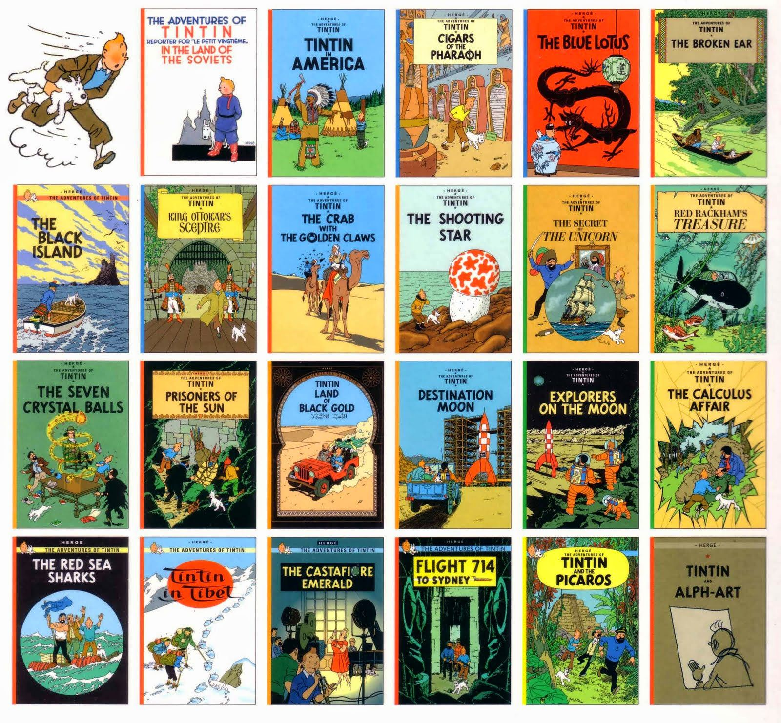 "Image result for The Adventures of Tintin"" by Hergé images"