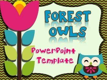 powerpoint design forest owls owl theme pinterest owl