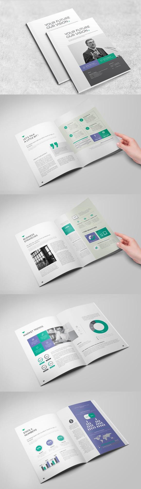 The Business Brochure | Brochure Templates | Pinterest
