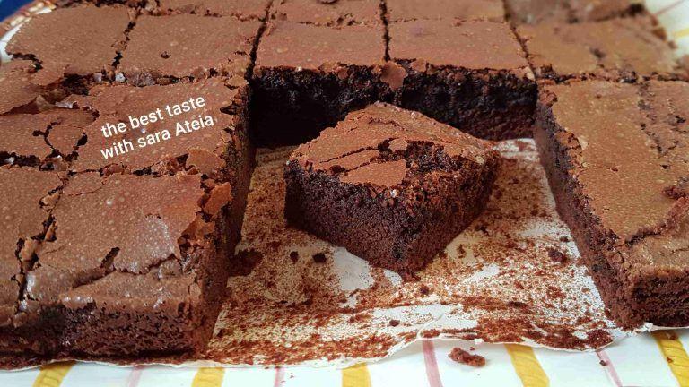 طريقة عمل البراونيز الوصفة الأصلية الناجحه زاكي Food Desserts Brownie