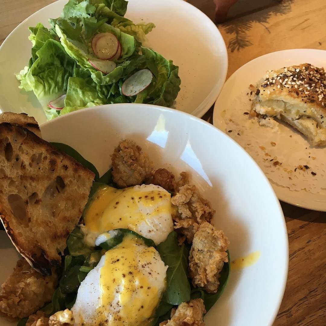 Lovely brunch @launderetteatx. Thanks @sandraramosphoto for including me in the 12 days of birthday line-up. #austin360eats