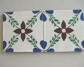 Decorative Terracotta Tiles 25T12 3X3 Talavera Decorative Tile In Blueterracotta